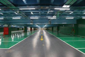 پارکینگ مجلس شورای اسلامی- چراغ IP65 LED رِین لِد 03