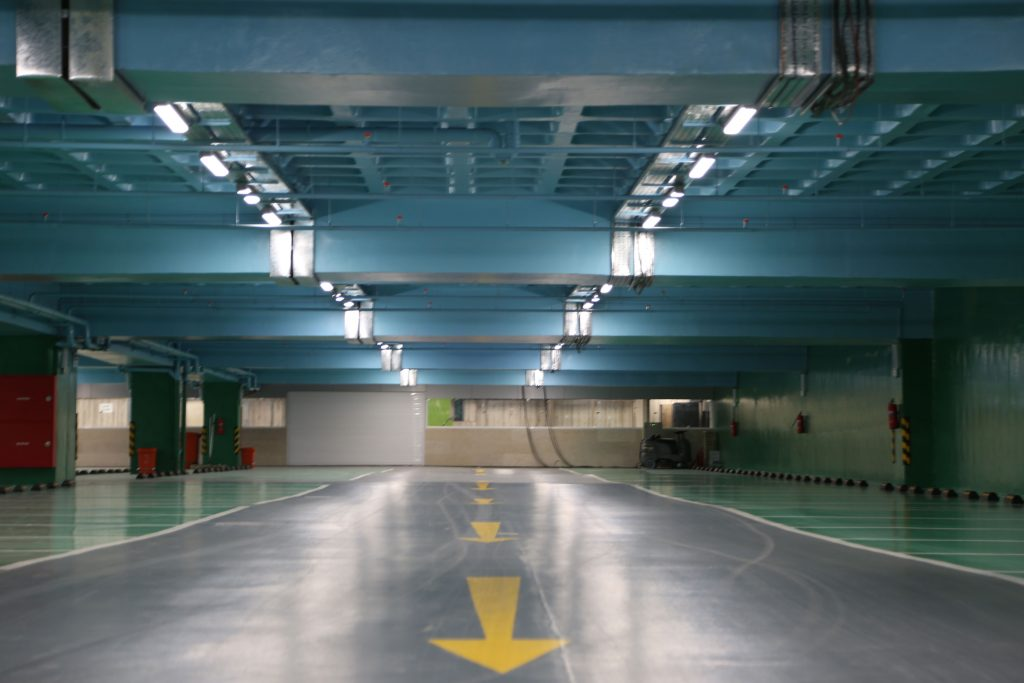پارکینگ مجلس شورای اسلامی- چراغ IP65 LED رِین لِد 04
