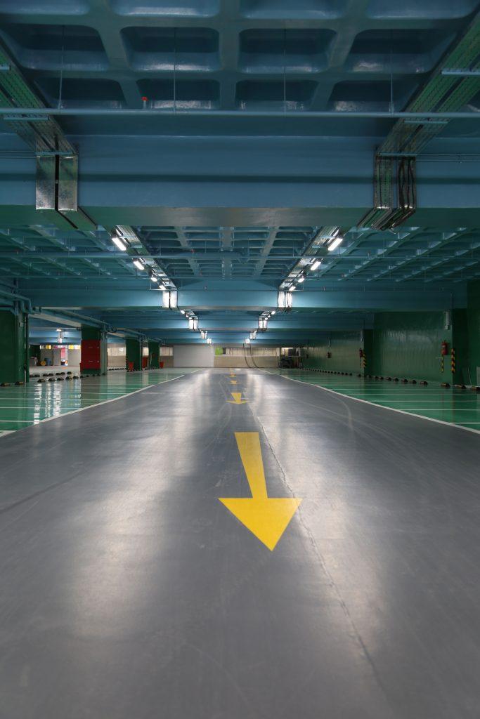 پارکینگ مجلس شورای اسلامی- چراغ IP65 LED رِین لِد