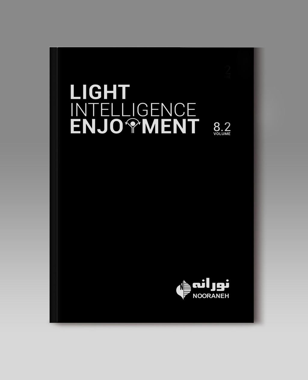 جلد کاتالوگ چراغ های روشنایی نورانه