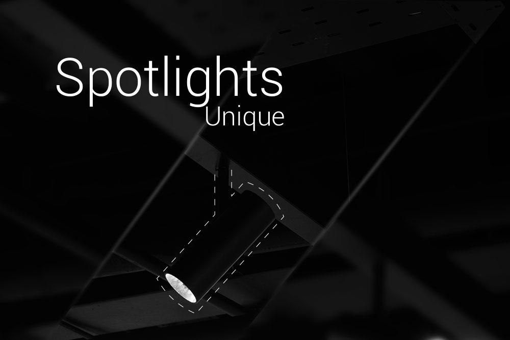 چراغ روشنایی یونیک ( نور اسپات) نورانه سمفونی چراغ خطی لاین، چراغهای یونیک، رینگو