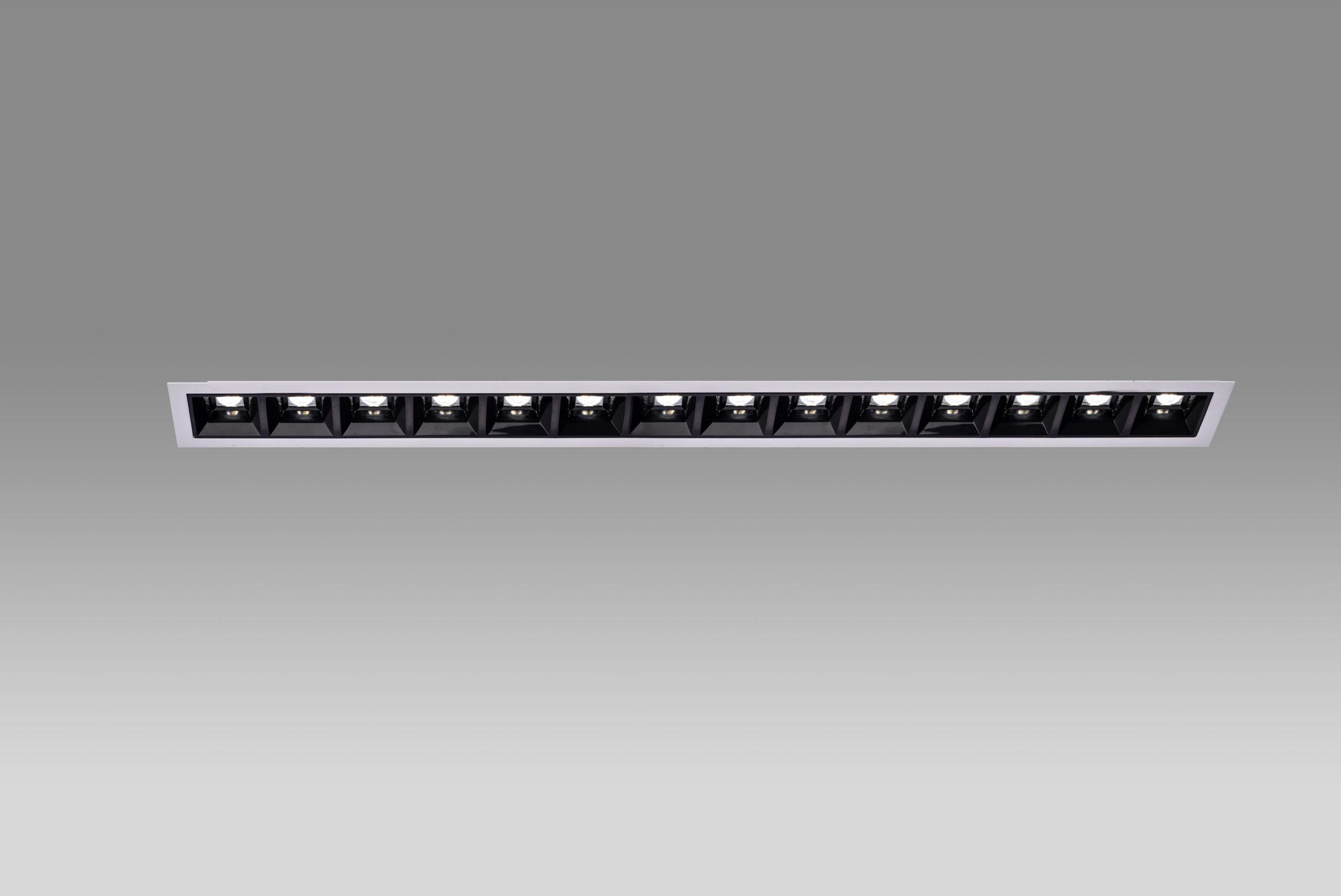چراغ دانلایت خطی لنزا 56 سانتی متر صنایع روشنایی نورانه
