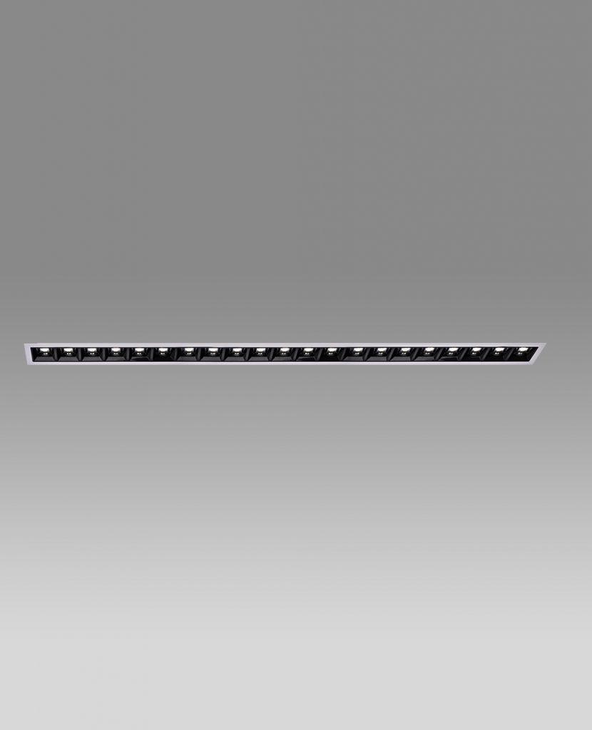 چراغ دانلایت خطی لنزا 84 سانتی متر صنایع روشنایی نورانه