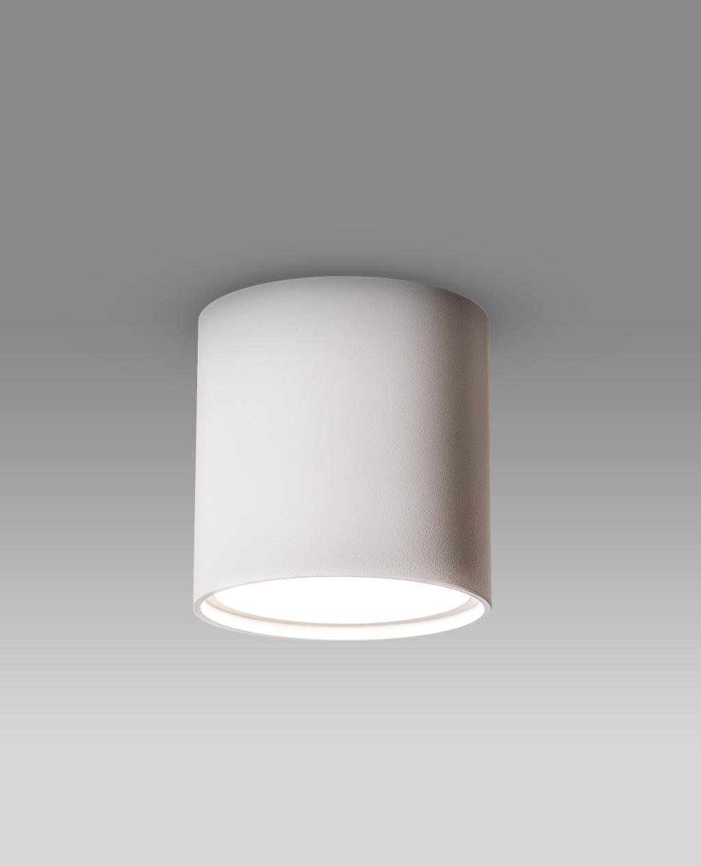 تصویر چراغ دانلایت روکار اکو روی کار تولید شده در صنایع روشنایی نورانه