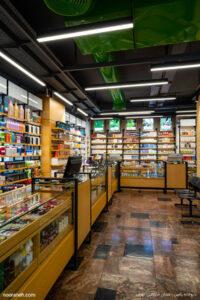 داروخانه رامین تهران خیابان فردوسی - صنایع روشنایی نورانه - اسپات لاین