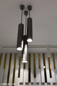تصویر چراغ های روشنایی کلینیک زیبایی ماه تابان - صنایع روشنایی نورانه - جرد